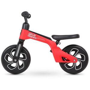 "Bicicleta copii QPLAY Tech Balance 321QPTECH20, 10"", rosu-negru"