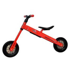 """Bicicleta copii fara pedale COCCOLLE B-Bike 335010020, 8.3"""", rosu-negru"""