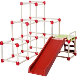 Spatiu de joaca LIL MONKEY Climb n' Slide Everest LMCSEVEU01, 1.5 ani+, multicolor
