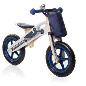 "Bicicleta copii fara pedale STAR RIDE Balance ODV1003, 12"", albastru-alb"