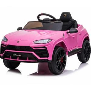 Masinuta electrica cu telecomanda STAR RIDE Lamborghini ODV1016, 3 ani+, roz-negru