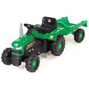 Tractor cu remorca DOLU D8053, 3 ani+, verde-negru