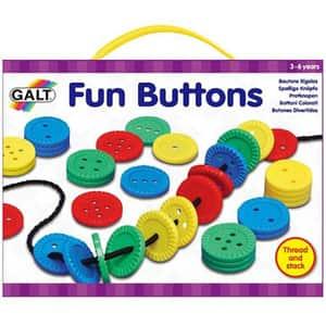 Joc de indemanare GALT Fun Buttons, 3 - 6 ani, multicolor