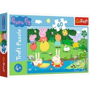 Puzzle TREFL Peppa Pig - Distractie in vacanta 17326, 4 ani+, 60 piese