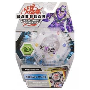 Figurina BAKUGAN Tretorous cu card Baku-Gear si Bila Ultra S2 6055885_20124621, 6 ani+, alb-mov