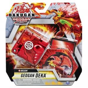 Figurina BAKUGAN Arcleon S3 Geogan Deka 6059974_20129214, 6 ani+, rosu-portocaliu