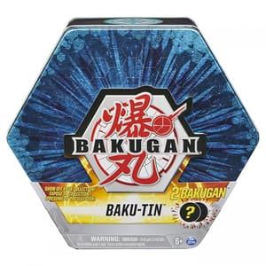 Set 2 figurine BAKUGAN S3 Zentaur si Vicerox 6060138_20129554, 6 ani+, alb-auriu