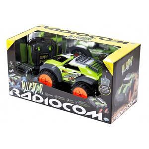 Vehicul amfibiu cu radiocomanda RADIOCOM Alligator 39001J, 6 ani+, verde-negru