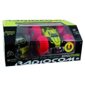 Masina cascadorii cu radiocomanda RADIOCOM Superjumper 39002J, 6 ani+, verde-rosu