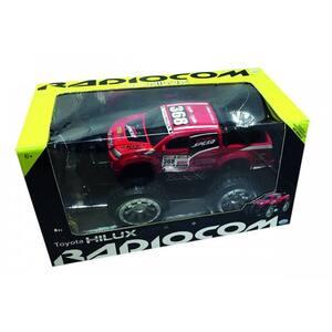 Masina cu radiocomanda RADIOCOM Toyota Hilux 39005J, 6 ani+, rosu-negru