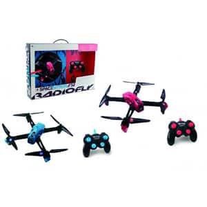 Drona cu radiocomanda RADIOFLY Spice Nitron 40006J, 8 ani+, albastru-roz