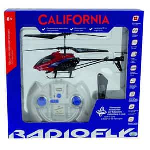 Elicopter cu radiocomanda RADIOFLY Radiofly California 40301J, 8 ani+, rosu-negru