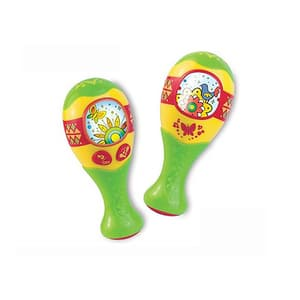 Jucarie de rol LITTLE LEARNER Maracas 4225T, 12 luni+, multicolor