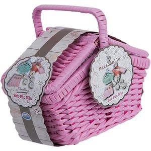 Set picnic MAISONELLE 56288J, 3 ani+, roz-bleu