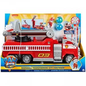 Masina de pompieri a lui Marshall PAW PATROL 6060444, 3 ani+, rosu-alb