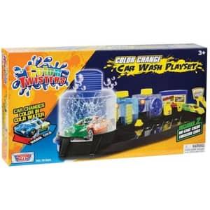 Spalatorie de masini MOTORMAX Color Twisters 78183A, 3 ani+, multicolor