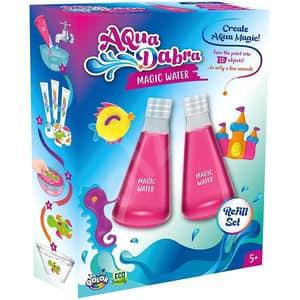 Set AQUADABRA Magic Water 2 Pack 337-19, 5 ani+, transparent-roz