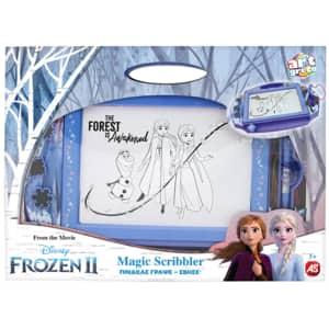 Tabla de scris ART GRECO Magic Scribbler - Frozen II 1028-12261, 3 ani+, albastru
