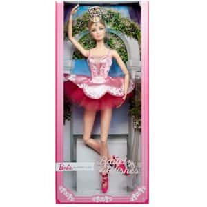 Papusa BARBIE Colectie Balerina MTGHT41, 6 ani+, roz