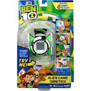 Jucarie interactiva BEN 10 Alien Game Omnitrix LCD 76991, 4 ani+, verde-alb