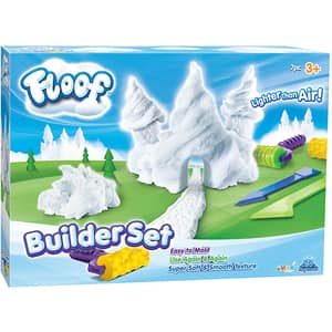 Spuma modelatoare FLOOF Builder set FL4413, 3 ani+, alb