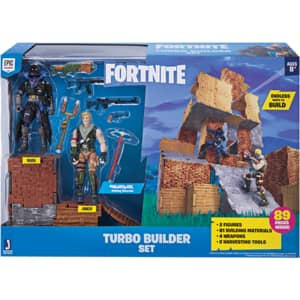 Set 2 figurine FORTNITE Turbo Builder FNT0036, 8 ani+, multicolor
