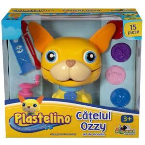 Set PLASTELINO Catelul Ozzy cu plastilina INT2698, 3 ani+, multicolor