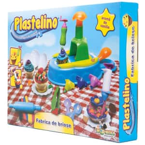 Set PLASTELINO Fabrica de briose INT5874, 3 ani+, multicolor
