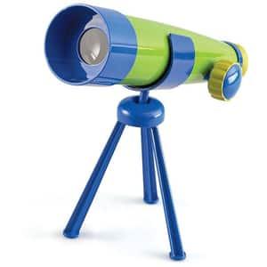 Jucarie de rol LEARNING RESOURCES Primul meu telescop LER2817, 3 - 7 ani, albastru-verde