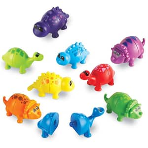 Set dinozauri jucausi LEARNING RESOURCES LER6708, 2 - 6 ani, multicolor
