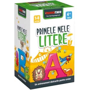 Joc educativ MEMORACE Primele mele litere LG0001, 4 ani+, 58 piese