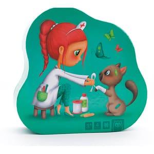 Puzzle 4in1 EUREKA KIDS Medic veterinar LG0443, 3 ani+, 16 piese