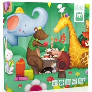 Puzzle EUREKA KIDS Magnetic - Petrecerea Animalelor LG0470, 2 ani+, 16 piese