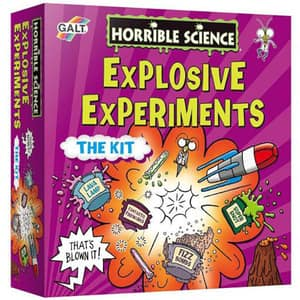Kit experimente explozive GALT Horrible Science LL10341, 8 ani+