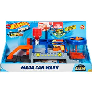Pista cu masina HOT WHEELS City Mega Car Wash MTFTB66, 4 - 8 ani, multicolor