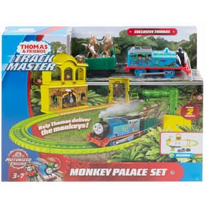 Set THOMAS Trackmaster Monkey Palace MTFXX65, 3 ani+, multicolor