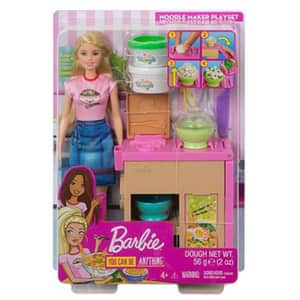 Papusa BARBIE Pregateste noodles MTGHK43, 4 ani+, multicolor