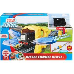 Set THOMAS Diesel Tunnel Blast MTGHK73, 3 ani+, multicolor