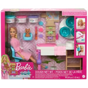 Papusa BARBIE O zi la salonul de spa MTGJR84, 4 ani+, multicolor