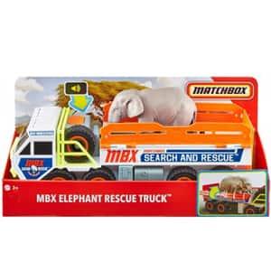Set MATCHBOX Elephant Off Road Rescue Adventure MTGMH44, 3 ani+, multicolor