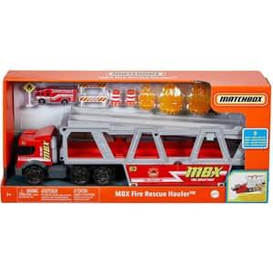 Set MATCHBOX Fire Rescue Hauler MTGWM23, 3 ani+, multicolor