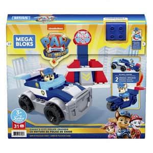 Joc constructie MEGA BLOKS Masina de politie MTGYJ00, 3 ani+, 31 piese