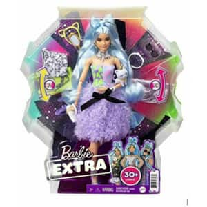 Papusa BARBIE Extra Style MTGYJ69, 3 ani+, multicolor