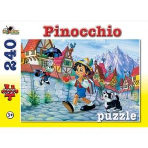 Puzzle NORIEL Pinocchio NOR3041, 3 ani+, 240 piese