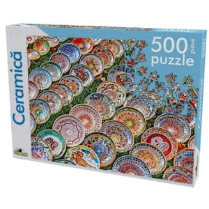 Puzzle NORIEL Ceramica NOR5229, 8 ani+, 500 piese