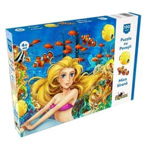 Puzzle NORIEL Mica Sirena NOR5304, 4 ani+, 100 piese