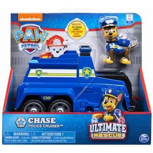 Masina de politie PAW PATROL Ultimate Rescue Chase 6044192_20106852, 3 ani+, albastru-negru