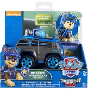 Masina de politie PAW PATROL Chase 6031703_20079026, 3 ani+, albastru-gri inchis