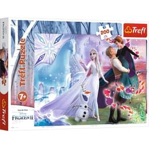 Puzzle TREFL Disney Frozen II - Universul magic 13265, 7 ani+, 200 piese