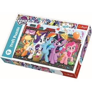 Puzzle TREFL My little Pony - Ponei la cumparaturi 15365, 5 ani+, 160 piese